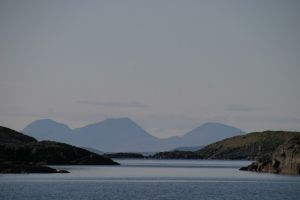 Erraid and Paps of Jura